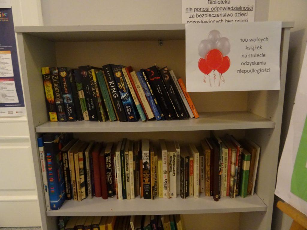 Akcja bookcrossingowa na 100-lecie odzyskania niepodległości