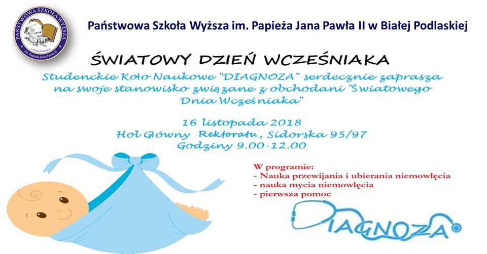 PSW włącza się w obchody dnia wcześniaka