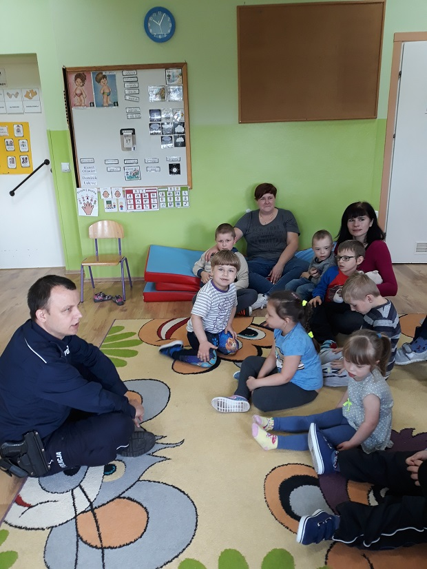 Dzieci poznały główne zasady bezpieczeństwa