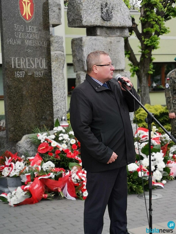 Obchody Święta Konstytucji 3 Maja w Terespolu
