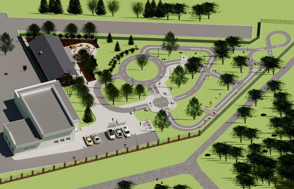 Jak będzie wyglądało miasteczko ruchu drogowego?