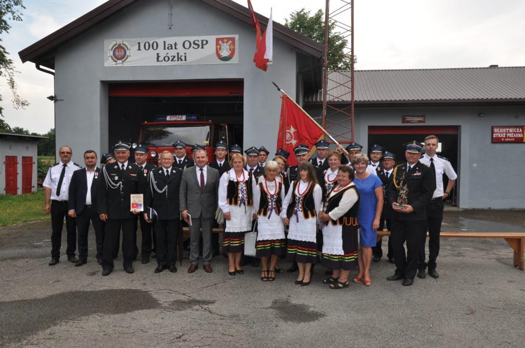 Świętowali setną rocznicy powstania Ochotniczej Straży Pożarnej