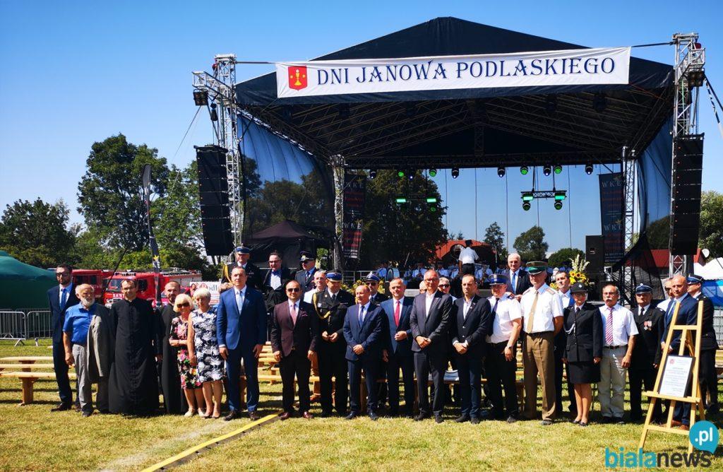 Jubileusz 100-lecia Ochotniczej Straży Pożarnej w Janowie Podlaskim