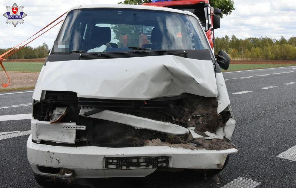 Tragiczny wypadek na krajowej dwójce. Jedna osoba nie żyje
