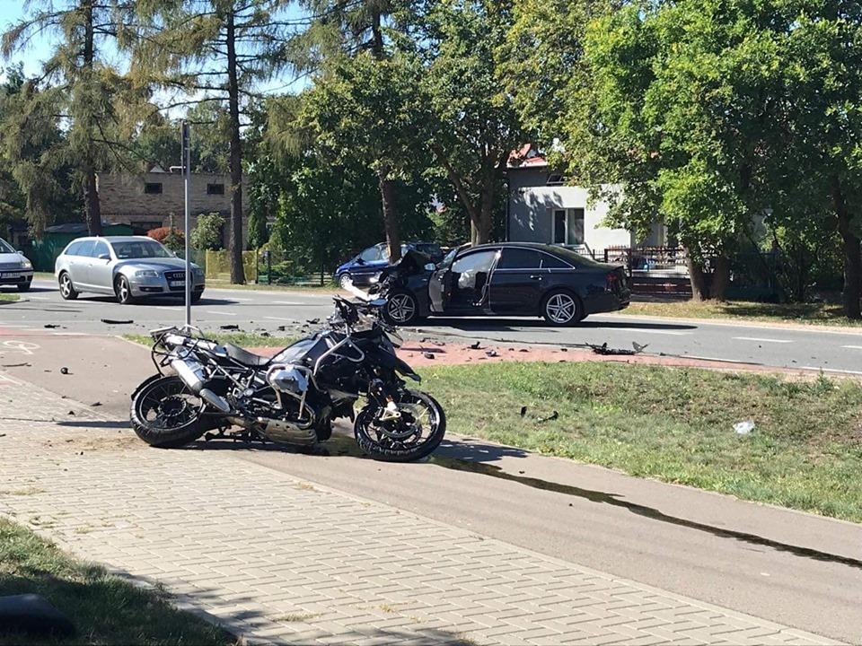 Smutne wieści. Zmarł motocyklista z wypadku przy ulicy Lubelskiej