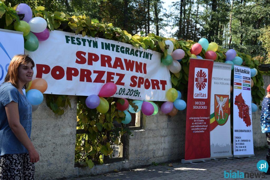 """Festyn Integracyjny """"Sprawni poprzez sport"""""""