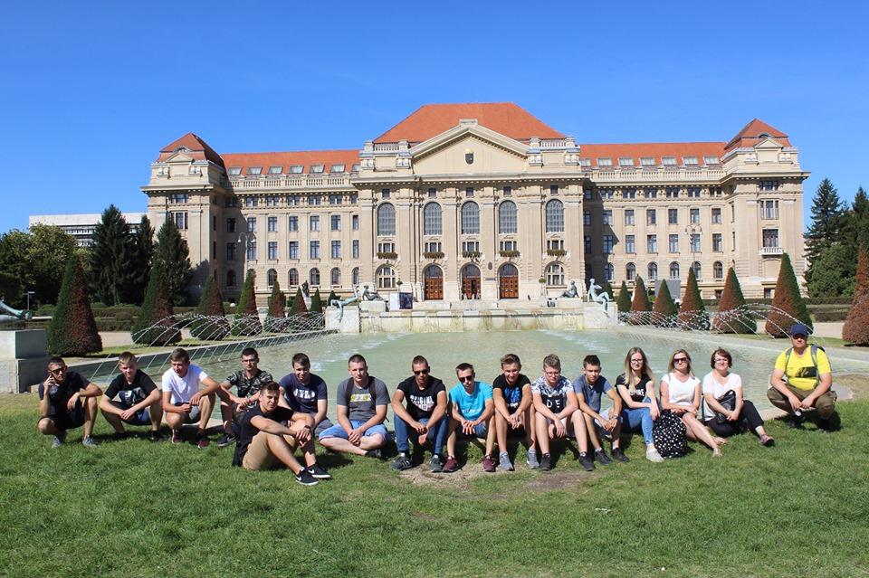 Uczniowie z ZSCKR w Leśnej Podlaskiej odbyli staż zawodowy na Węgrzech