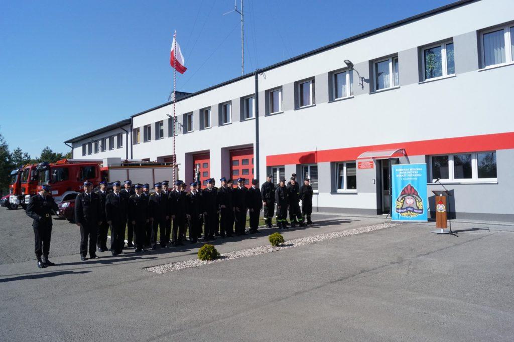 Termomodernizacja budynku straży pożarnej w Międzyrzecu