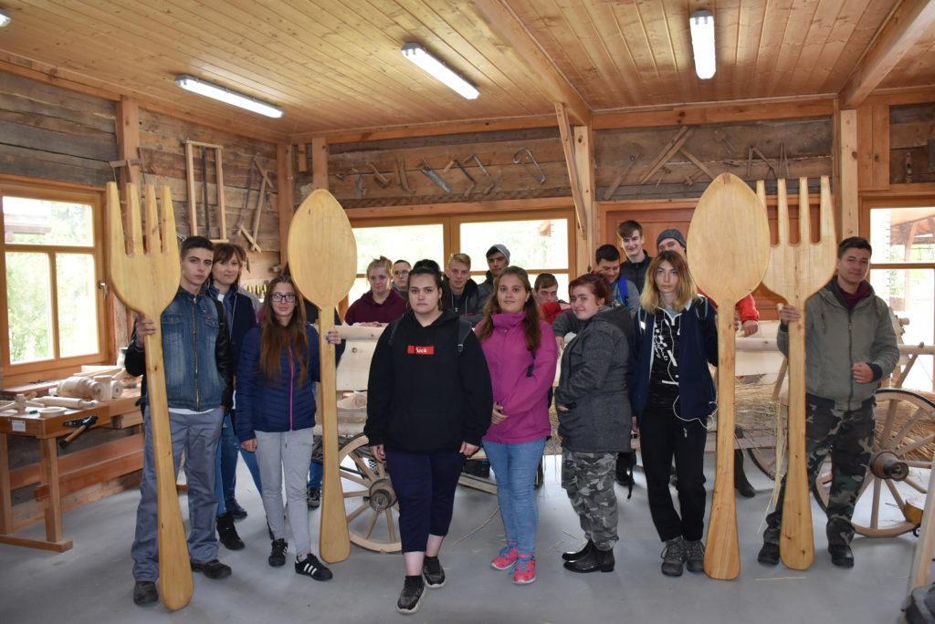 Młodzież z Węgier z wizytą w ZSCKR w Leśnej Podlaskiej