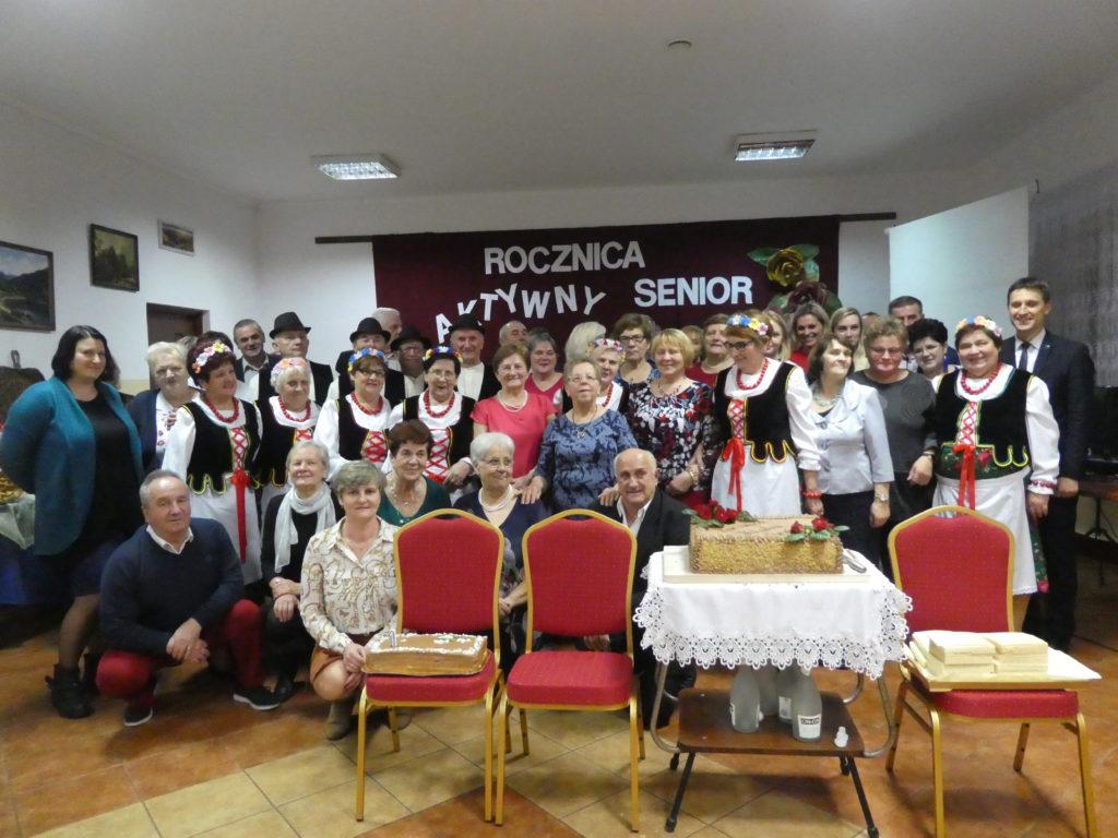"I rocznica projektu ""Aktywny senior!"""