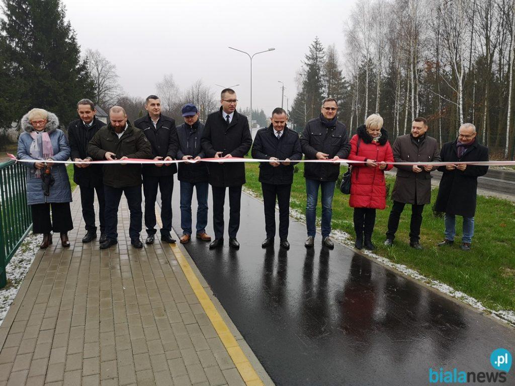Droga Zalesie-Piszczac oficjalnie otwarta