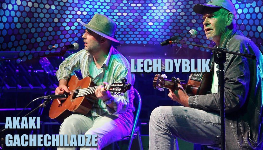 Lech Dyblik oraz Akaki Gachechiladze w Terespolu