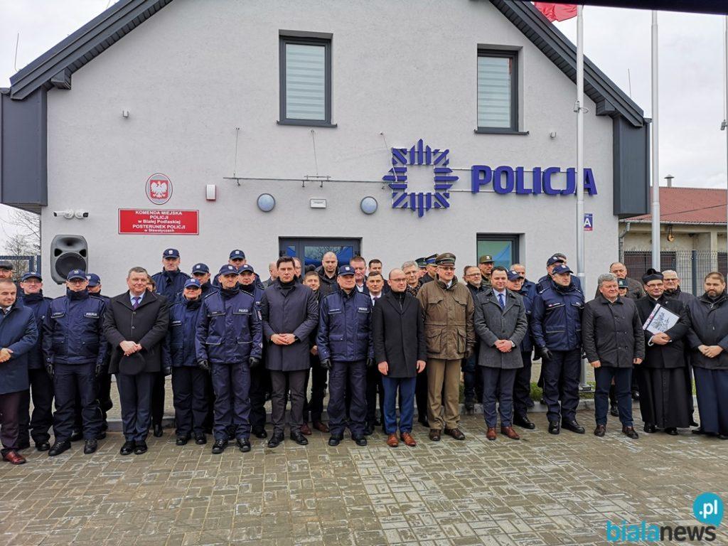 Otwarcie Posterunku Policji w Sławatyczach