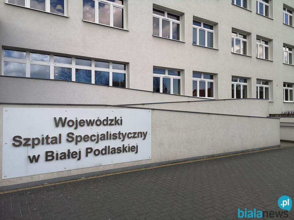Bialski szpital wstrzymał planowe przyjęcia pacjentów