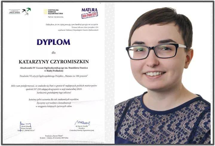 Katarzyna Czyromiszkin: O maturze powinno się myśleć już od pierwszej klasy