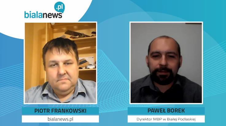 GOŚĆ BIAŁANEWS: Dyrektor MBP – Paweł Borek