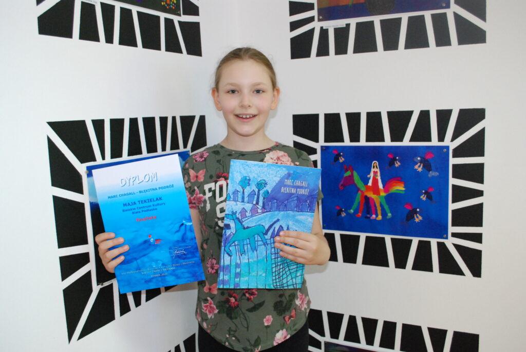 10-letnia bialczanka laureatką międzynarodowego konkursu plastycznego
