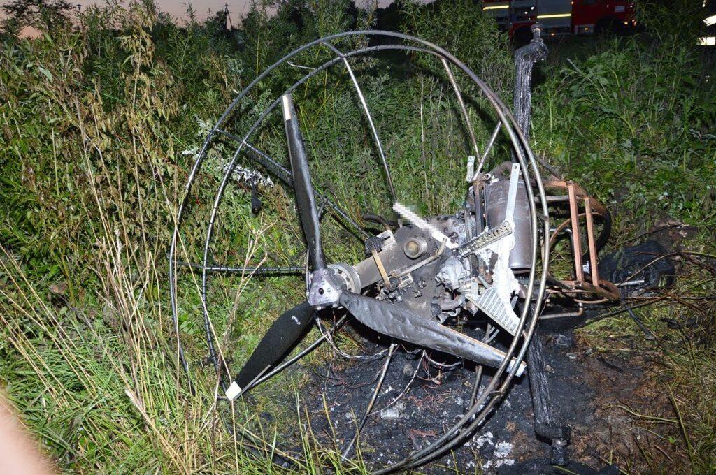 Wypadek motoparalotni