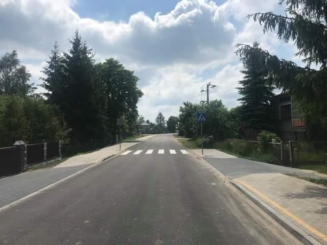 Zakończyła się przebudowa drogi gminnej w Zahorowie