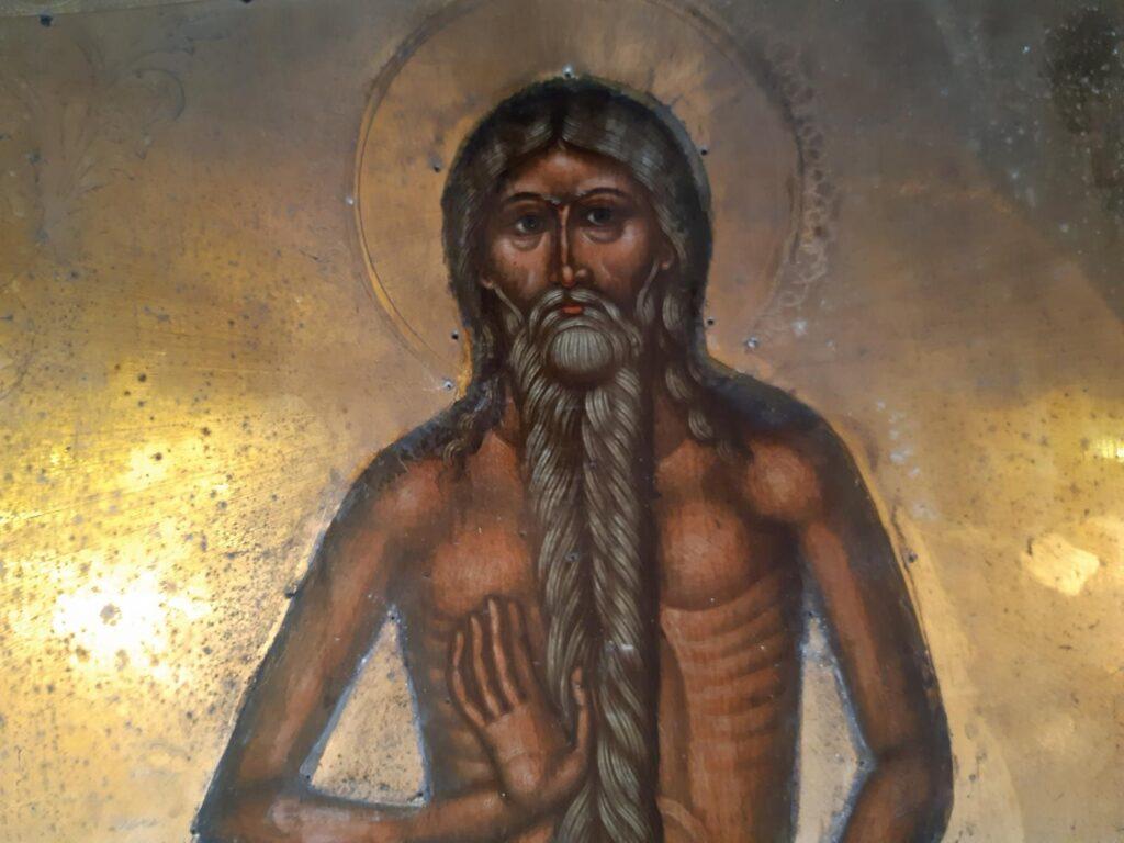 500-letnia ikona św. Onufrego z Jabłecznej przeszła renowację