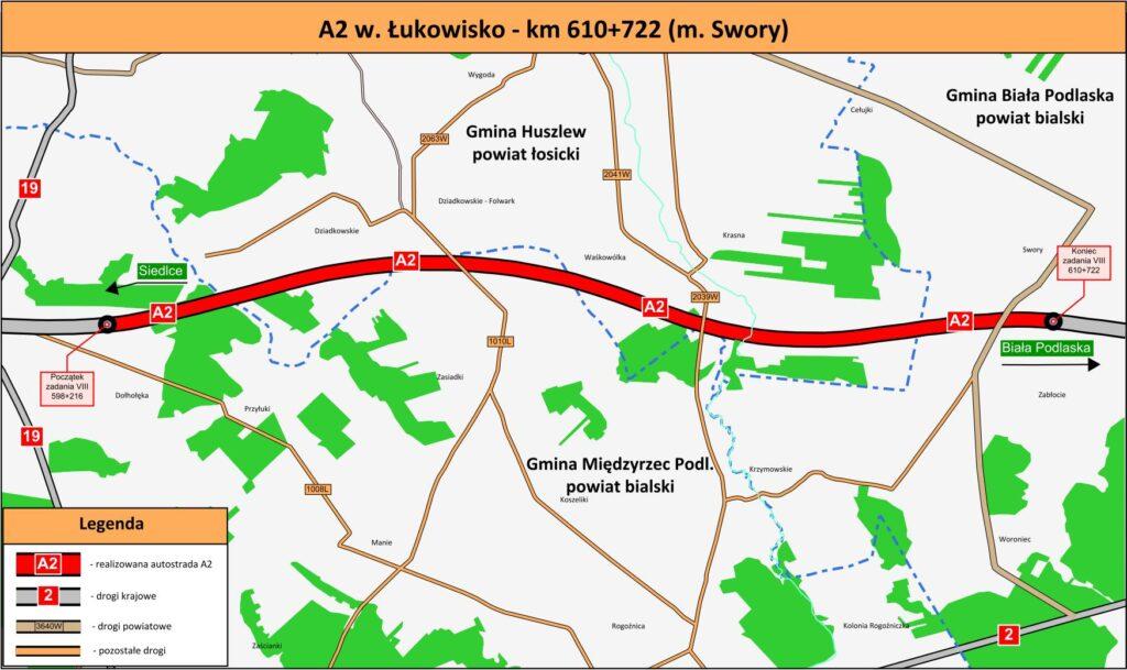 Wybrano wykonawce na budowę drugiego odcinka autostrady A2 Siedlce – Biała Podlaska