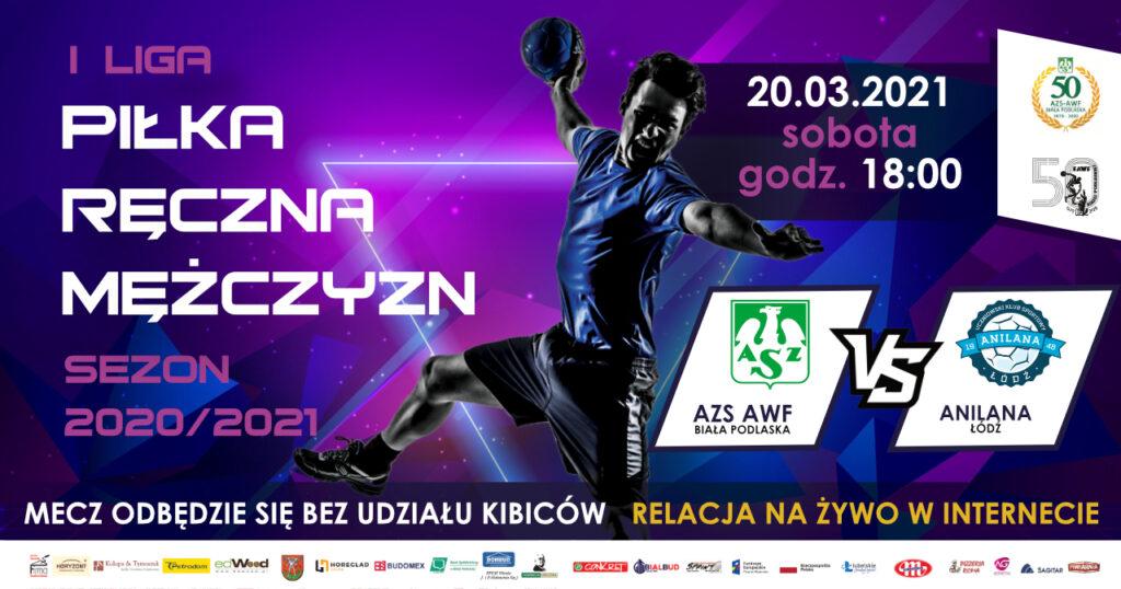 Piłkarze AZS AWF Biała Podlaska zmierzą się z Anilaną Łódź