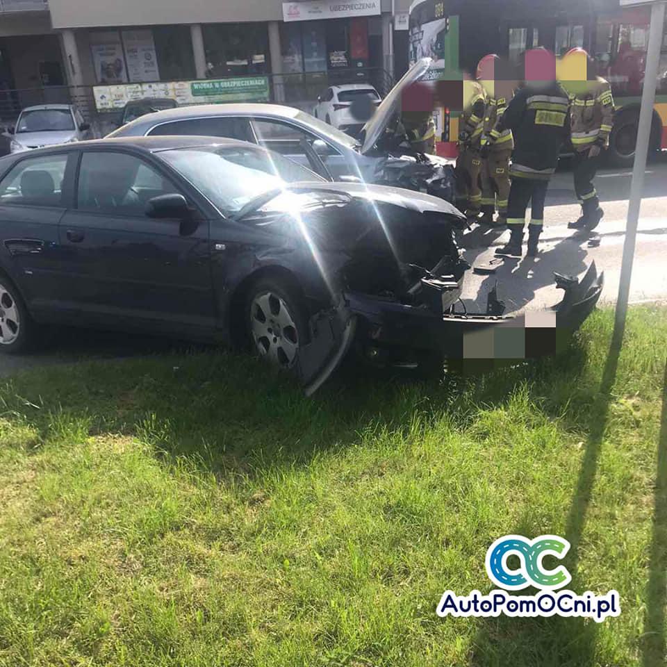 Wypadek na Zamkowej. Jednym z aut kierował prezydent Litwiniuk
