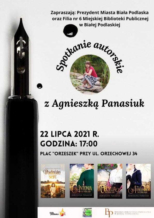 Spotkanie z autorką powieści związanych z Białą Podlaską i regionem Południowego Podlasia