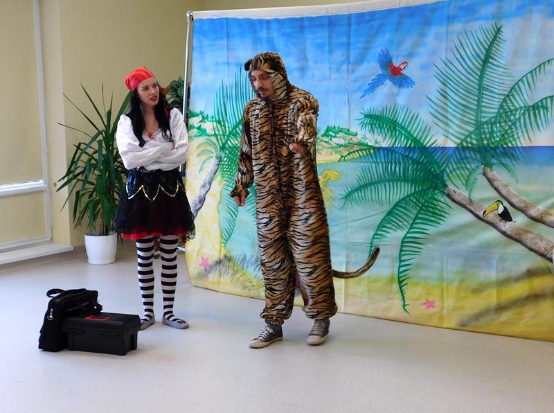 Spektakl dla dzieci w wykonaniu Teatru MASKA
