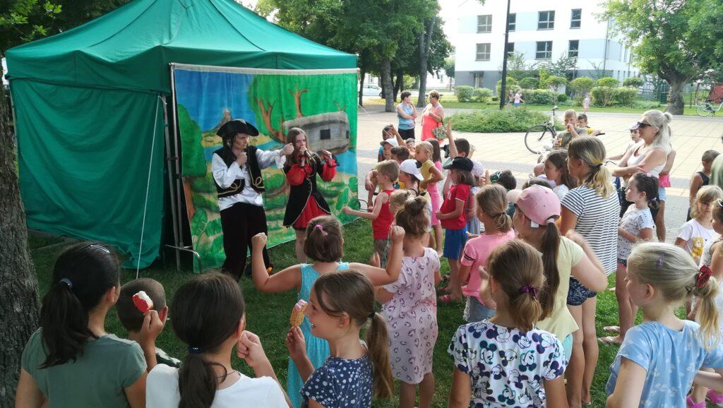 Teatr Maska pokazał dzieciom jak spędzić czas z kulturą