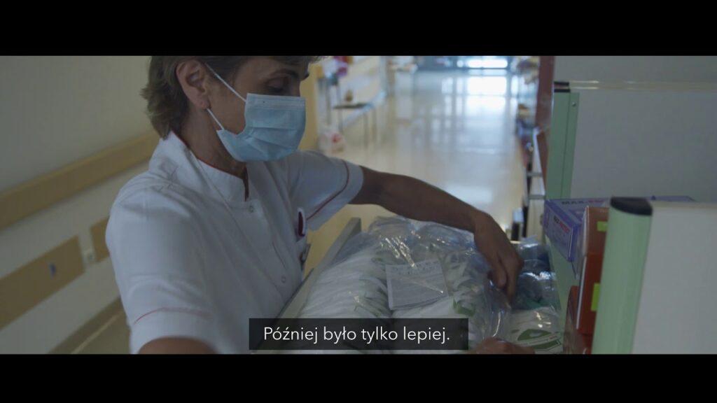 Bialska pielęgniarka bohaterką nagrodzonego spotu o walce z koronawirusem